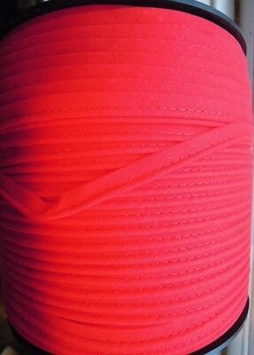 Upholstery Flanged Piping Cord 10 Metres Leather & Fabric Pink Red Black White 6