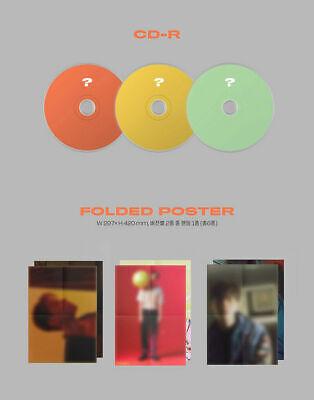 BAEKHYUN DELIGHT Album 3CD+POSTER+3 Photo Book+9 Card+3 F.Poster+3 Sticker+GIFT 9