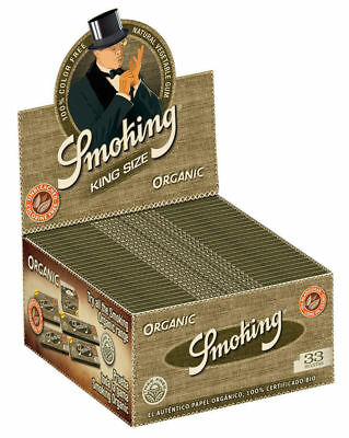 1 Box Smoking King Size Papers 50 x 33 Blättchen Long Papers Slim
