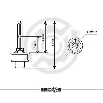 DUO-SET SEIDOS D2S 8000K STANDARD EDITION Xenon Brenner Scheinwerfer Lampe NEW
