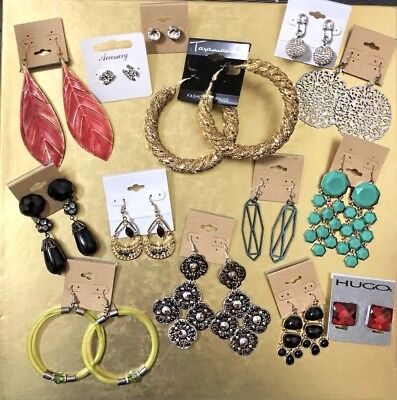 1990/'s Throwback Necklace /& Earrings Set Free Shipping! Lot #8234 Roll back to the 90/'s with this set