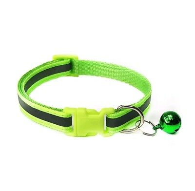 Reflective Dog Cat Kitten Collar Pet Puppy Adjustable Harness with Bell 4