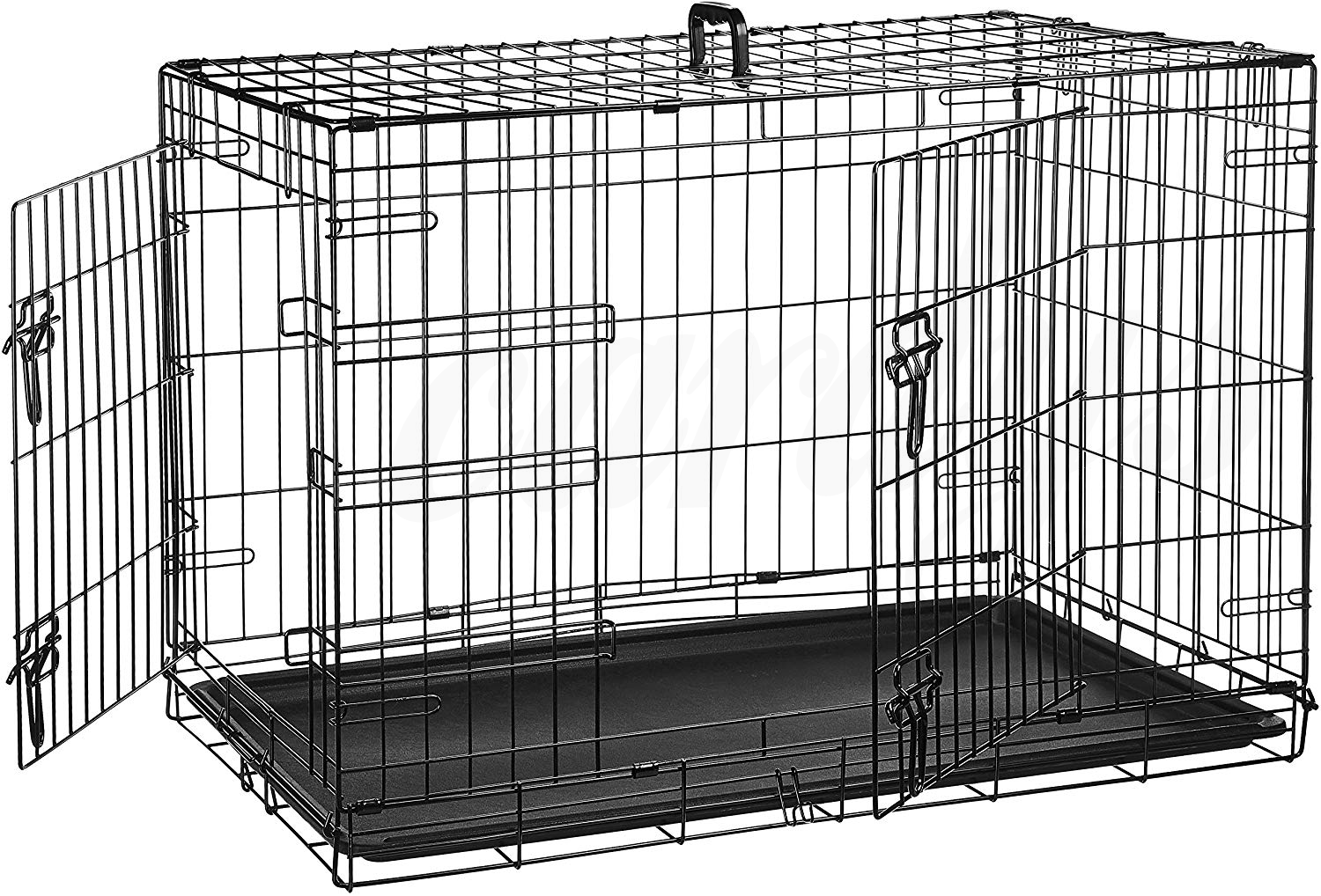Dog Cage Puppy Pet Crate Carrier - Small Medium Large S M L XL XXL Metal 2