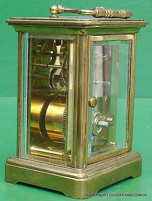 Matthew Norman Vintage Swiss 8 Day Timepiece Carriage Clock