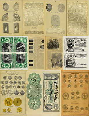 200 Old Books & Publications On Money Counterfeiting & Counterfeit Detector Dvd 12