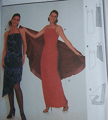 2005 Evening Elegance Lined Dress Gown Pattern Sz Choice 4-18 McCall/'s 4773 OOP