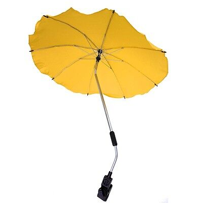 Baby Sun Umbrella Parasol Pram Pushchair Canopy Protect From Sun Rain Universal 2