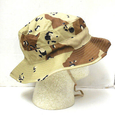 NEW USGI 6 Color Choc. Chip Desert Storm Boonie Hat 6 3 8 -  8.99 ... 662f5b55d3a