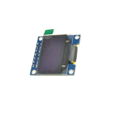 "5PCS 3-5V 0.96"" SPI Serial 128X64 OLED LCD LED Display Module blue yellow 3"