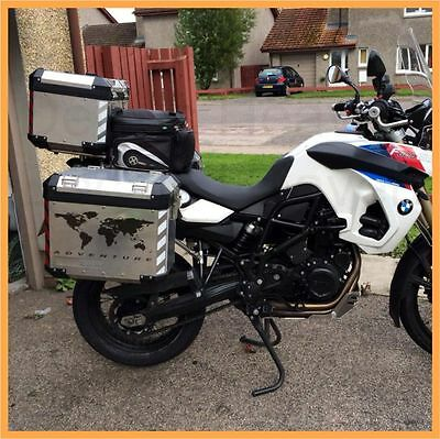 Bmw r1200 gs gsa f800gs reflective world map pannier decal set 2 of 3 bmw r1200 gs gsa f800gs reflective world map pannier decal set safety sticker m1 gumiabroncs Image collections