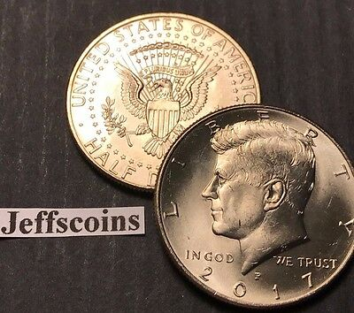 2018 P&D Kennedy Half Dollars Kenedy PD MINT ROLL Clad 50¢ 2 Uncirculated Coins 8