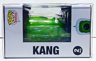 1 Box Protector For Funko Pop! KANG AND KODOS SIMPSONS 2 pack! New Display Cases 6