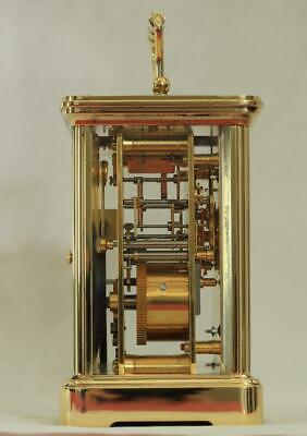 Swiss Matthew Norman 1751A Striking Repeater Grande Corniche Carriage Clock 7