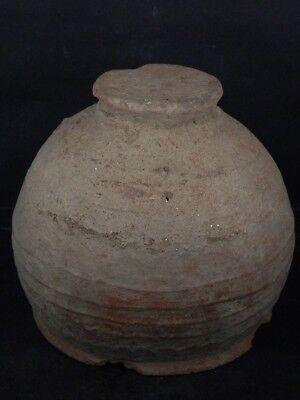 Ancient Large Size Teracotta Drinkging Cup Bactrian 300 BC #Ik517 9