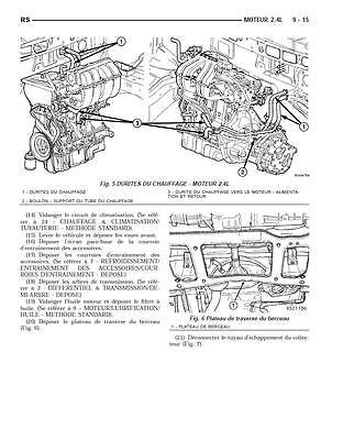 manuel atelier entretien réparation technique Chrysler Grand Voyager 2001 2008