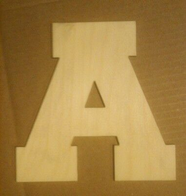 20 Wooden Block Font Style Letter Unfinished Wood Letters Custom 20 Inch