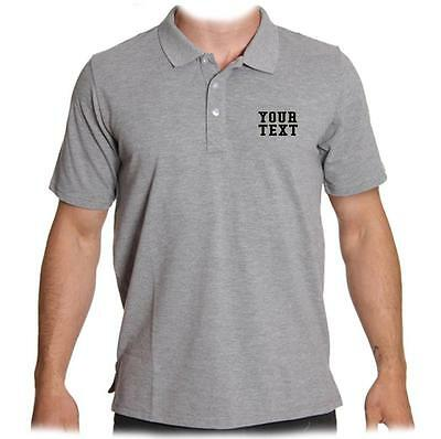 d1640ca5 ... New Men Womens Printed Custom Personalized Collar Polo T-Shirt Company  Team Name 10