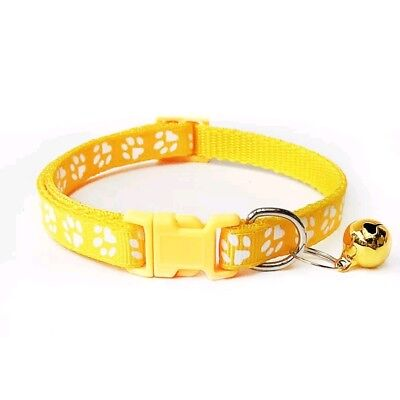 Dog Cat Collar Pet Puppy Kitten Adjustable Harness Neck Strap with Bell 4