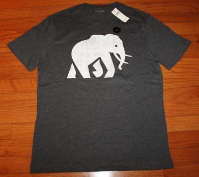 7eb101a08e6b ... new nwt mens banana republic graphic logo elephant tee t shirt 25 ...
