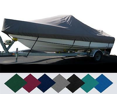 CUSTOM FIT BOAT Cover Lund 2000 Fisherman Its Windshield O/b 2000-2006