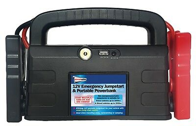 Streetwize 12V Power Bank with Jump Starter for up to 5L Petrol & 3L Diesel Cars 2