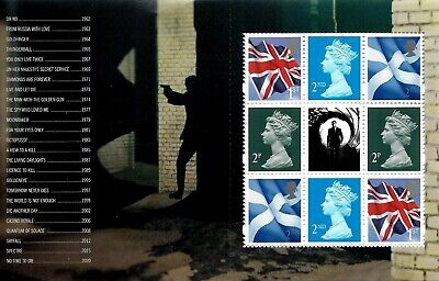 James Bond 2020 Mint Presentation Pack 583 Stamps Sheet Prestige & Retail Books 10