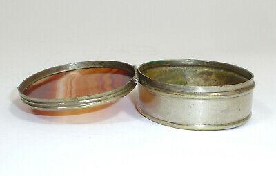 Pill Box um 1900 Can Agate 5