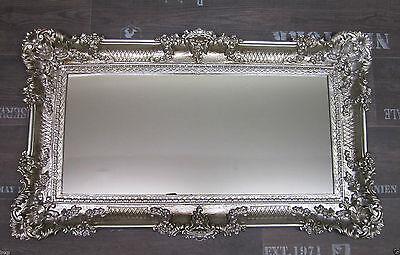 xxl wandspiegel barock 96x57 antik rokoko spiegel. Black Bedroom Furniture Sets. Home Design Ideas