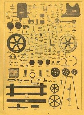 Emerson Type S Gas Engine Motor Instruction Book 2 1/2 hp Manual Flywheel 2
