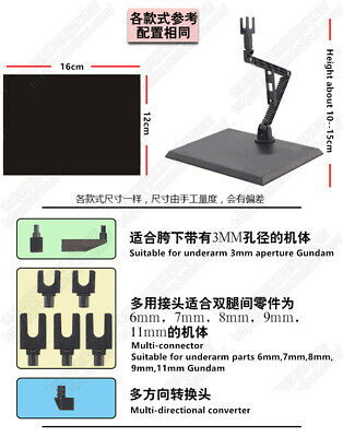 Action figure base suitable display stand bracket for 1//144 HG//JBEC