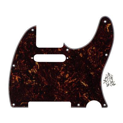 Standard Tele Guitar Pickguard 8 Holes Scratch Plate for TL Telecaster Guitar 4
