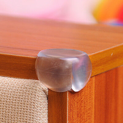 12Pcs Clear Table Desk Corner Edge Guard Cushion Baby Safety Bumper Protector 5