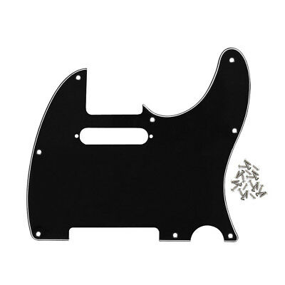Standard Tele Guitar Pickguard 8 Holes Scratch Plate for TL Telecaster Guitar 3