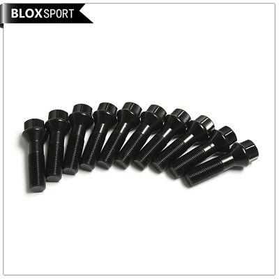 2 x 15 mm Roue Entretoises /& Noir Boulons fit for 4 Series F32 F33 F36