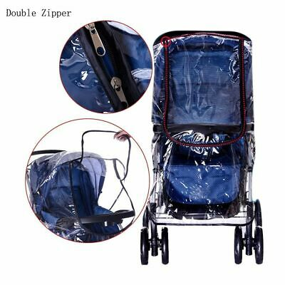 Zipper Rain Wind Cover Shield Protector for Austlen Infant Baby Child Strollers 3