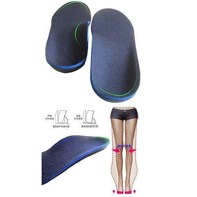 EVA Adult Flat Foot Arch Support Orthotics Orthopedic Insoles Foot Care Unisex 10
