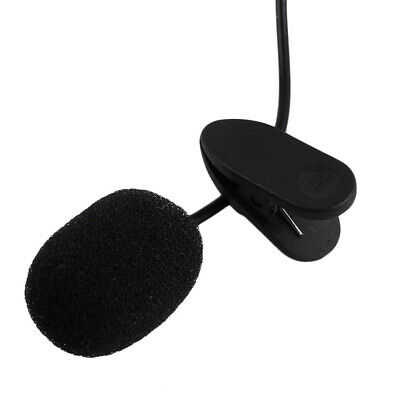 Clip-on Lapel Mini Lavalier Mic Microphone 3.5mm For Mobile Phone PC Recording 5