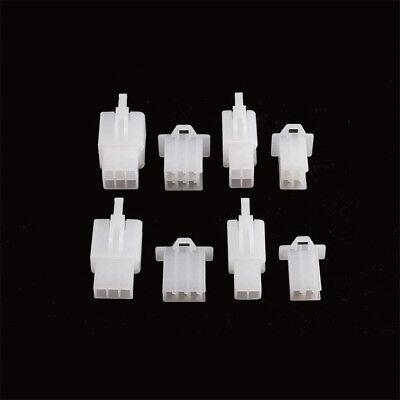 40pc Automotive Electrical Wire Connectors Kit  2 3 4 6 Pin Cable Terminal Plug 5