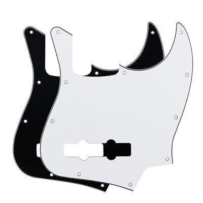Jazz Bass Style Pickguard Scratch Plate 10 Holes For Standard 4 String J Bass 2