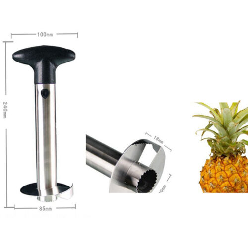 how to use oxo pineapple corer