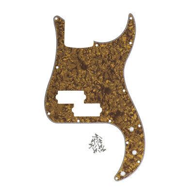 Standard P Bass Pickguard Scratch Plate for FD Precision Bass 13 Holes & Screws 8