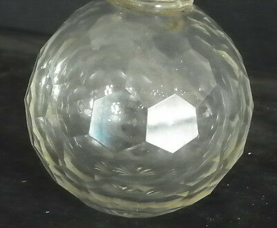 Large Faceted Round Crystal Ball Finial 4986 2
