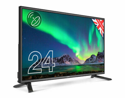 """CELLO 24"""" inch LED TV FREEVIEW HD HDMI, USB & VGA - NEW 2020 MODEL - MADE IN UK 2"""