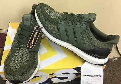 low priced e888a c5842 ... 11 Adidas Ultra Boost M 2.0 Olive Green And Black BB6055 Merino Wool  AUTHENTIC yeez 10