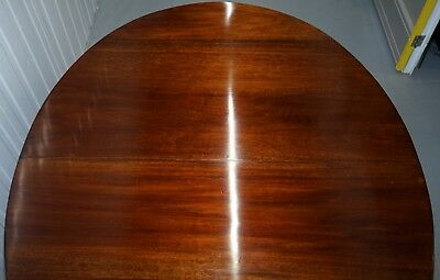 Stunning Victorian James Phillips & Son's Solid Mahogany Extending Dining Table 3
