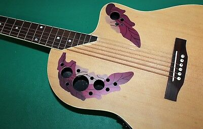 "Chitarra Eq New Orleans Natural Matt No Ovation Style Eq4B 40"" Custodia Omaggio 7"