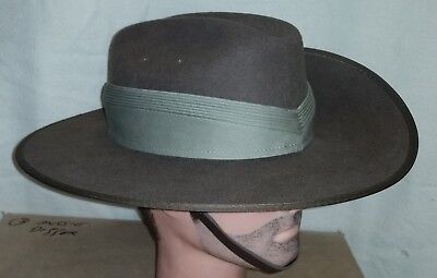 Khaki Pugaree For An Australian Slouch Hat - New / Unissued 7 Fold