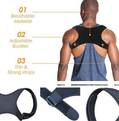 Posture Corrector  Shoulder Support Brace Adjustable Support Unisex 5
