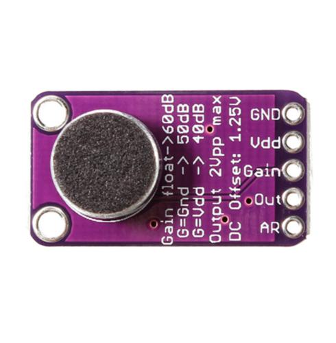 MAX9814 Elektret Mikrofon Verstärker Modul Auto Gain Control für Arduino 3