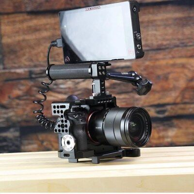 Camgear Cage+Top Handle+Ball Head for Sony Alpha A7II/A7RII/A7SII Camera 12